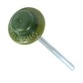Гвозди для Ондулина с шляпкой зеленые, фото  - Метэкс