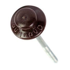 Гвозди для Ондулина с шляпкой коричневые, фото  - Метэкс