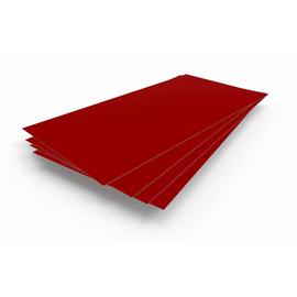В НАЛИЧИИ Лист гладкий 1,25х2,5х0,5 рубин RAL 3003, фото - Метэкс