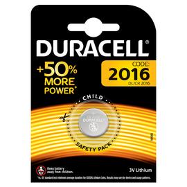 Батарейка DURACELL 2016 3V (1 шт), фото  - Метэкс