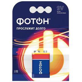 Батарейка ФОТОН 9V (1 шт), фото  - Метэкс