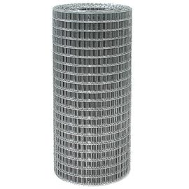 Сетка сварная из оцинк проволоки 12,0х12,0х0,7 высота 1м (рулон 15 м), фото  - Метэкс