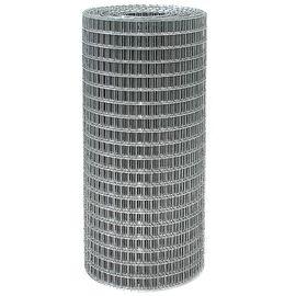 Сетка сварная из оцинк проволоки 10,0 х 10,0 х 0,6 высота 1 м (рулон 15 м), фото  - Метэкс