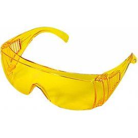 Очки защитные открытого типа желтые ударопрочный поликарбонат Россия Сибртех, фото - Метэкс