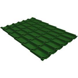 Металлочерепица Монтеррей 0,5 1,18 RAL 6002 зеленая листва, фото  - Метэкс