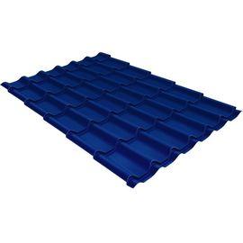 Металлочерепица Монтеррей 0,5 1,18 RAL 5005 синий, фото  - Метэкс