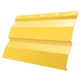 Сайдинг корабельная доска 228(255) 0,5 RAL 1018 желтый, фото  - Метэкс