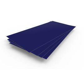 В НАЛИЧИИ Лист гладкий 1,25х2,5х0,5 ультрамарин RAL 5002, фото - Метэкс