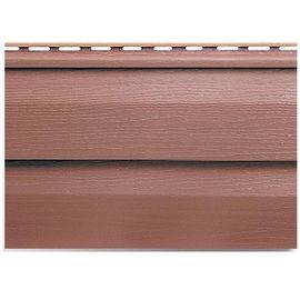 Сайдинг Альта Профиль красно-коричневый 3660 мм, фото  - Метэкс