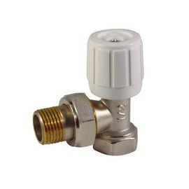 Клапан регулирующий ручной Ду 15 угловой, фото  - Метэкс
