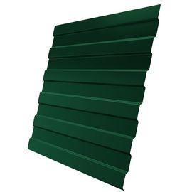 Профнастил С-8 0,5 1,20 RAL 6005 зеленый мох, фото  - Метэкс