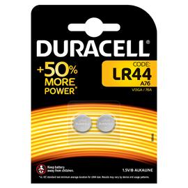 Батарейка DURACELL LR44 (2шт), фото  - Метэкс