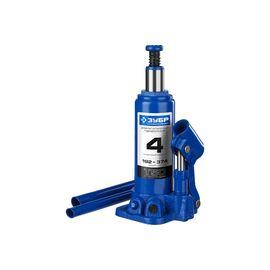 Домкрат гидравлический бутылочный 4 т подъем 192-374 мм ЗУБР 43060-4_z01, фото - Метэкс