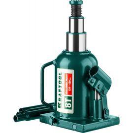 Домкрат гидравлический бутылочный 8 т подъем 170-430 мм Double Ram KRAFTOOL 43463-8, фото  - Метэкс