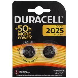 Батарейка DURACELL 2025 3V (2 шт), фото  - Метэкс