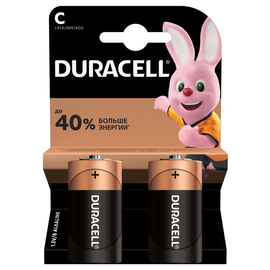 Батарейка DURACELL Basic C (2 шт), фото  - Метэкс