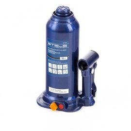 Домкрат гидравлический бутылочный 5 т подъем 207-404 мм пластиковый кейс STELS 51175, фото - Метэкс