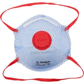 Полумаска фильтрующая FFP1 с внешеней сеткой ЗУБР 11160, фото - Метэкс