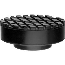 Резиновая опора для подкатного домкрата D 65 мм Н 27 мм MATRIX 50905, фото - Метэкс