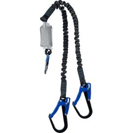 Удерживающая система двухплечный строп лента полиамидная с амортизатором ЗУБР 11596, фото - Метэкс