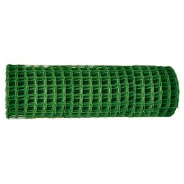 Сетка пластиковая в рулоне ячейка 83 x 83 мм 1 x 20 м Россия, фото  - Метэкс