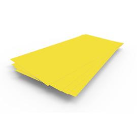 В НАЛИЧИИ Лист гладкий 1,25х2,5х0,5 желтый RAL 1018, фото - Метэкс