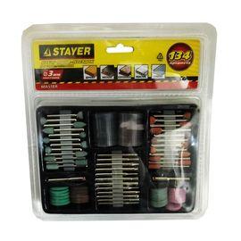 Набор насадок для гравера 134 предмета STAYER 29905-H134, фото  - Метэкс