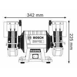 Электроточило BOSCH GBG 35-15 060127A300, фото , изображение 4 - Метэкс