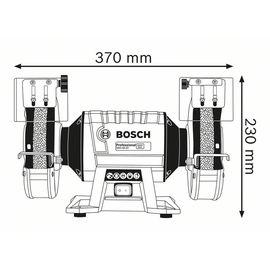 Электроточило BOSCH GBG 60-20 060127A400, фото , изображение 5 - Метэкс