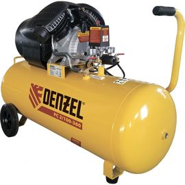 Компрессор воздушный DENZEL PC 2/100-360, 2,3 кВт, 360 л/мин, 100л, 58078, фото  - Метэкс
