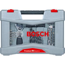 Набор сверл и бит  Premium Set-91 BOSCH 2608P00235, фото  - Метэкс