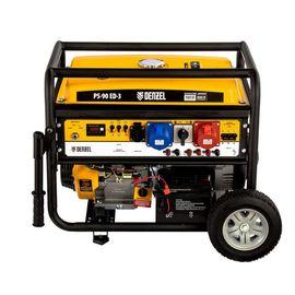 Генератор бензиновый DENZEL PS 90 ED-3, 9,0кВт 946944, фото - Метэкс