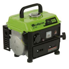 Генератор бензиновый СИБРТЕХ БС-950, 0,8 кВт, 230 В, 2-х тактный, 4 л, ручной стартер, фото - Метэкс