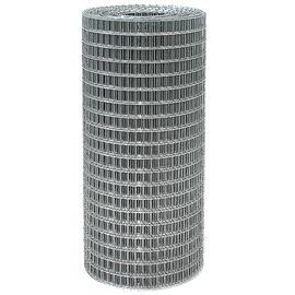 Сетка сварная из оцинк проволоки 50,0х50,0х2,5 высота 2,0 м (рулон 15 м), фото  - Метэкс
