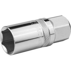"""Головка торцевая свечная 1/2"""" 21 мм с магнитом KRAFTOOL 27813-21_z01, фото  - Метэкс"""