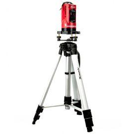Уровень лазерный самовыравнивающийся 150 мм, штатив 1150 мм пластиковый кейс MATRIX 35033, фото  - Метэкс