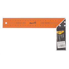 Угольник 250 мм металлический SPARTA 323425, фото  - Метэкс