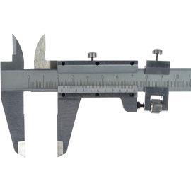 Штангенциркуль 250 мм цена деления 0,02 мм, металлический, с глубиномером MATRIX 316335, фото , изображение 3 - Метэкс