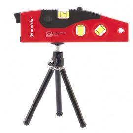 Уровень лазерный 180 мм штатив 220 мм 4 глазка MATRIX 35022, фото  - Метэкс