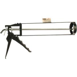 Пистолет для герметика 310 мл скелетный усиленный с фиксатором SPARTA 886125, фото , изображение 2 - Метэкс