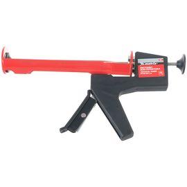 """Пистолет для герметика 310 мл """"полуоткрытый"""" противовес круглый шток 8 мм MATRIX 88666, фото - Метэкс"""