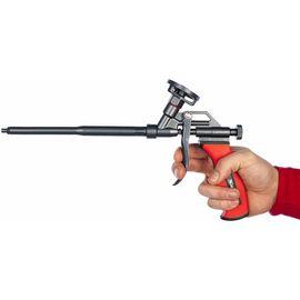 Пистолет для монтажной пены тефлоновое покрытие двухкомпонентная ручка MATRIX 88669, фото , изображение 3 - Метэкс
