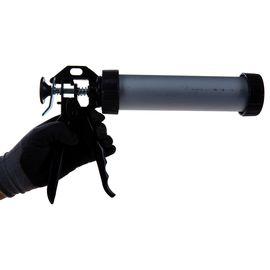 """Пистолет для герметика 400 мл """"закрытый"""" алюминиевый корпус круглый шток 8 мм SPARTA 886475, фото , изображение 4 - Метэкс"""