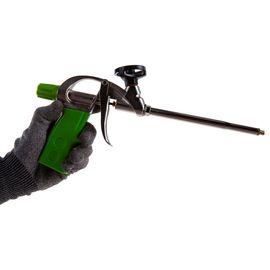 Пистолет для монтажной пены усиленный алюминиевый корпус СИБРТЕХ 88671, фото , изображение 3 - Метэкс