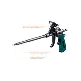 Пистолет для монтажной пены тефлоновое покрытие PANTHER KRAFTOOL 06855_z02, фото , изображение 3 - Метэкс