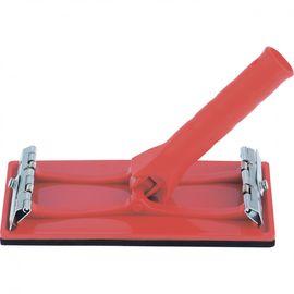 Брусок для шлифования 105 х 210 мм с шарнирным переходником под телескопическую ручку MATRIX 75835, фото - Метэкс