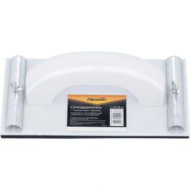Сеткодержатель 230 х 120 мм пластиковый с зажимами SPARTA 758515, фото - Метэкс