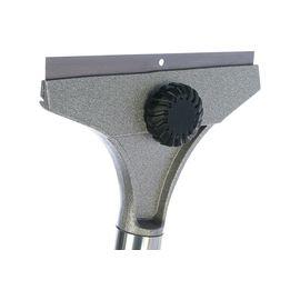 Скребок 100 мм фиксированное лезвие удлиненная металлическая обрезиненная ручка MATRIX 79550, фото , изображение 2 - Метэкс