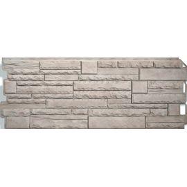 "Фасадная панель ""Скалистый камень"" АЛТАЙ (1170х450), фото  - Метэкс"