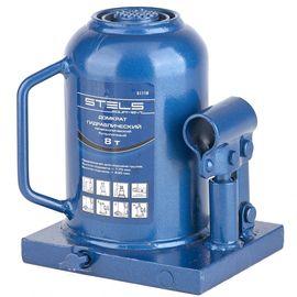 Домкрат гидравлический бутылочный 8 т подъем 170-430 мм STELS 51118, фото  - Метэкс